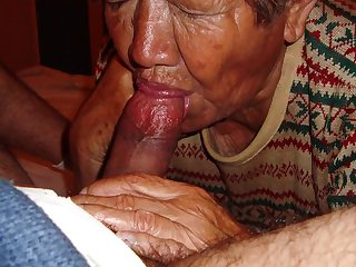 LatinaGrannY Fellatio and Granny Making Out Compilation