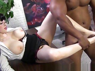 Hos Feet Cum Black Dong