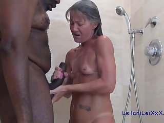 Granny slut and black guy