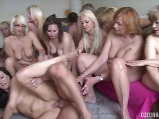 hot kinky sex party with mature sluts