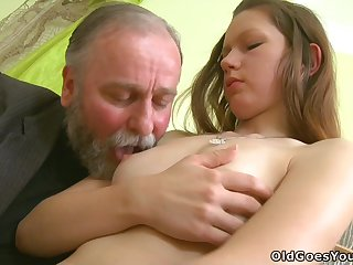 Mommy Tutor Fucks His Student - ANALDIN