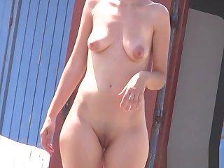 Amateur Hot female nudists hidden spy beach voyeur HD Video