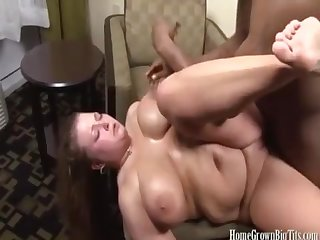 Katie Cupps gets Her Fill of Hard Black Knob