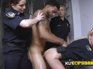 Hot mother I´d like to fuck whore in cop uniform