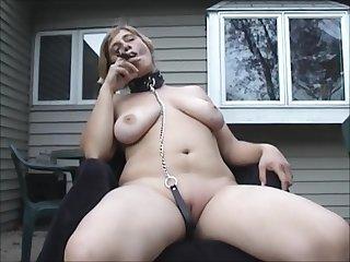 Outdoor Bathrobe Cigar Fetish
