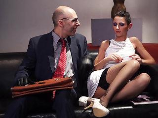 German salve babe gets tied & tortured