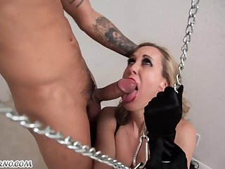 Brandi Love This Sexy Slut Loves Hot BDSM Sex