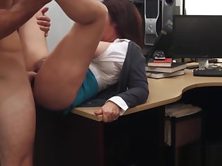 Busty Wife Fucks For Bail Cash