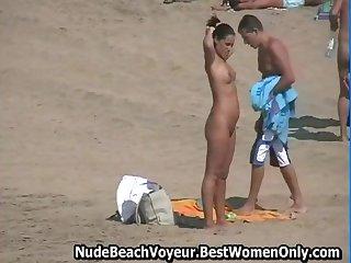 Nudists Spyied At Fuerteventura Island Beach