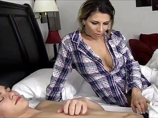 Naughty Stepmother Fucks Her Sleeping Step Son
